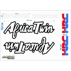 kit adesivi moto Africa twin hrc honda stickers