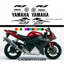kit stickers yamaha r1 anno 2003
