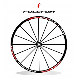adesivi cerchi mtb fulcrum red metal xrp stickers wheel