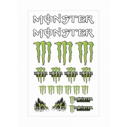 Monster Energy graffio kit adesivi